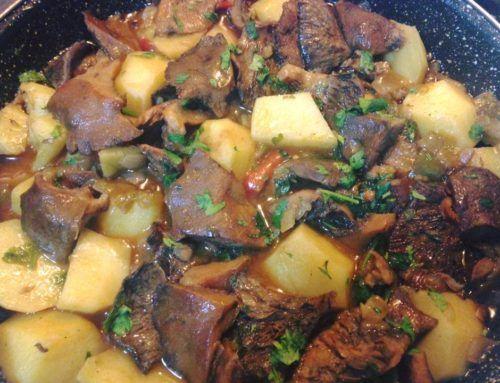 Níscalos con patatas