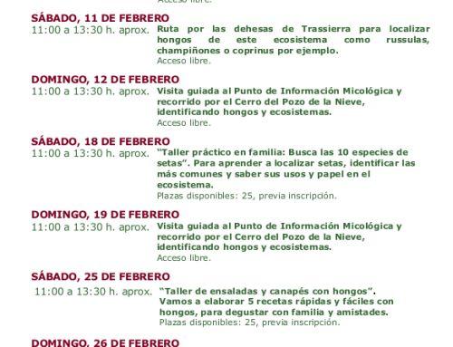 Rutas para identificar setas en Córdoba