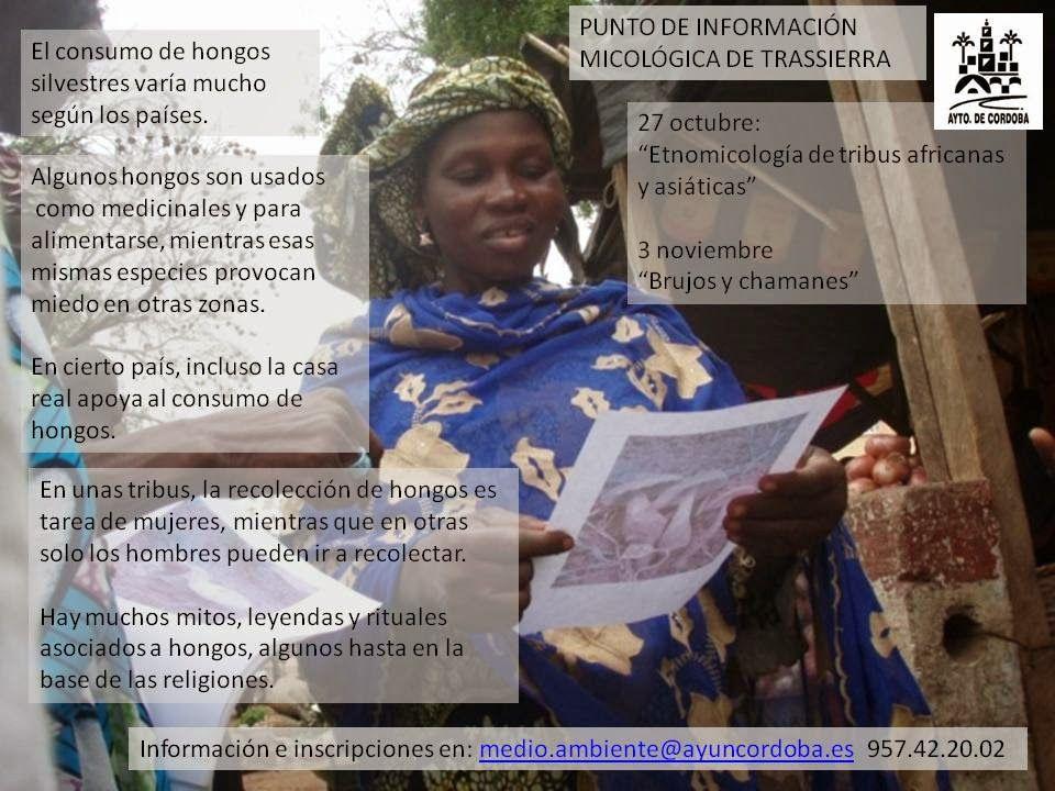 """Conferencia """"Etnomicología en tribus africanas y asiáticas"""""""