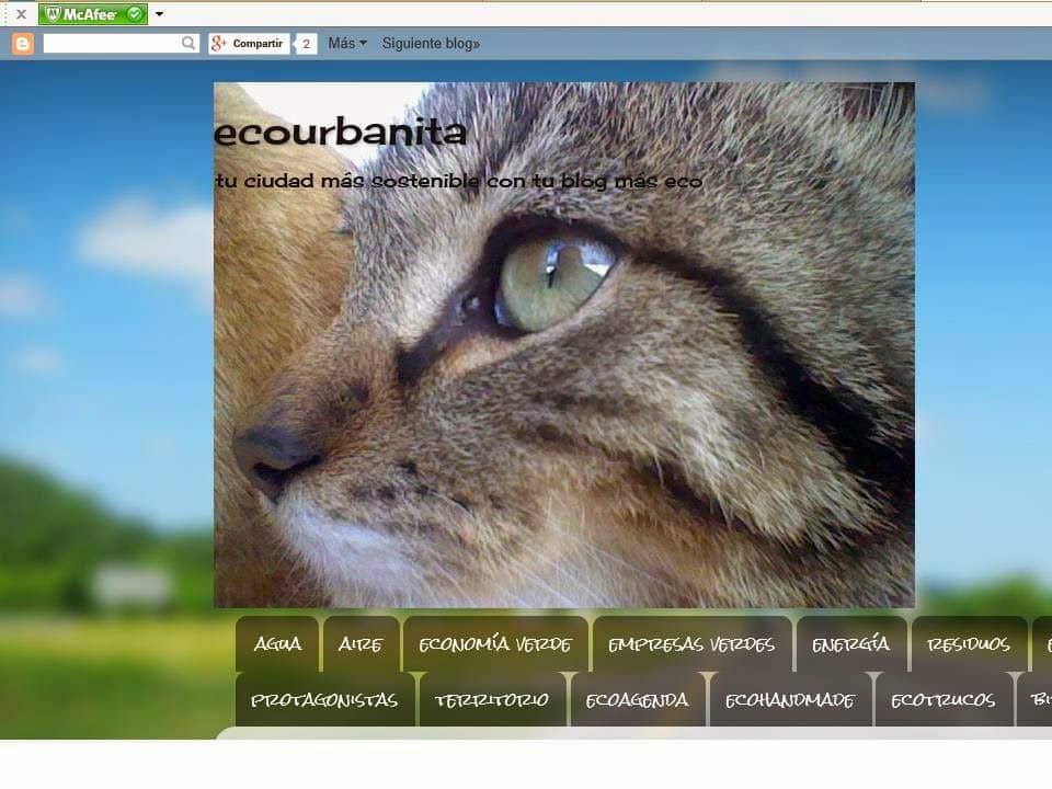 Artículo sobre SETACOR en el blog ECOURBANITA